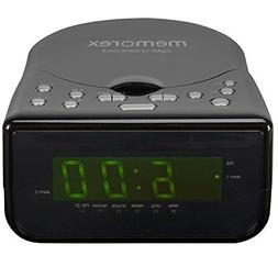 Memorex Top Loading CD Dual Alarm Clock AM/FM Stereo Radio w
