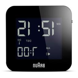 Braun Men's Digital Square Alarm Clock