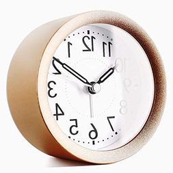 TXL Digital Metal Alarm Clock for Kids' Room Silent Snooze T