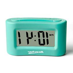 Reacher Mini Battery Operated Alarm Clock - Simple Basic Ope