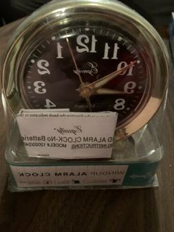 mini bell alarm clock crosse