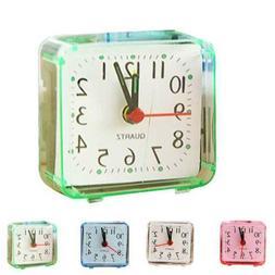 Mini Children Student Square Small Bed Compact Travel Alarm