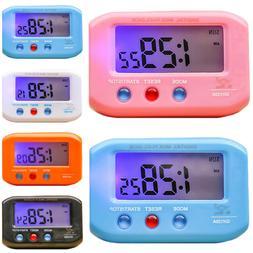 Portable Small Portable LCD Display Digital Travel Alarm Clo