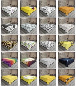 Ambesonne Modern Scene Flat Sheet Top Sheet Decorative Beddi