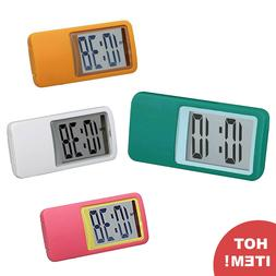 Moto Design Smartek Compact Mini Table Clock Digital Transpa