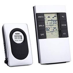 MTOFAGF TS - H146 433MHz Wireless Weather Station Alarm Cloc
