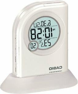 Casio Multi Function Thermometer Table Top White Digital Ala