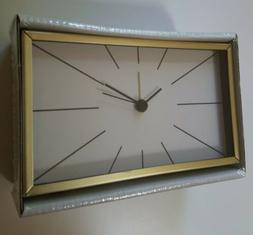 myggjagare alarm clock gold brass color 6x3