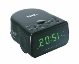 "Naxa Electronics Nrc-176 Digital Alarm Clock, 0.9"" Led Displ"