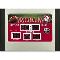 Team Sports America NCAA Scoreboard Desk Clock