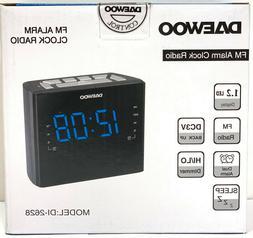 New Daewoo 220 Volt DI-2628 Alarm Clock Radio for Export 220
