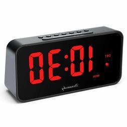 NEW DreamSky 7.3 Inches Large Alarm Clock Radio, FM Clock Ra