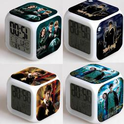 NEW Alarm Clock Harry Potter Hermione 7-Color Changing Alarm