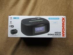 New: Magnavox Alexa Clock Radio Voice Activated