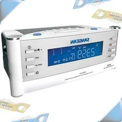 NEW SANGEAN AM/FM Atomic Alarm Clock Radio with LCD Display