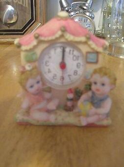 New Baby's  Alarm Quartz  Mantel/ Shelf/Desk  Clock
