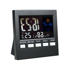 New Battery Digital Alarm Clock with LCD Display Backlight C