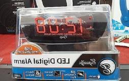 "NEW Bedroom Digital Alarm Clock Equity by La Crosse 0.9"" Wat"