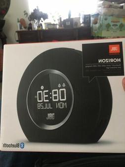 New JBL by Harman Horizon Bluetooth Alarm Clock with Ambient