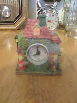 New Country House  Alarm Quartz  Mantel/ Shelf/Desk  Clock