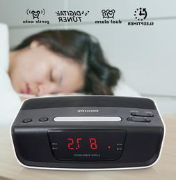 Philips New Dual Voltage Alarm Clock Radio for Worldwide Use