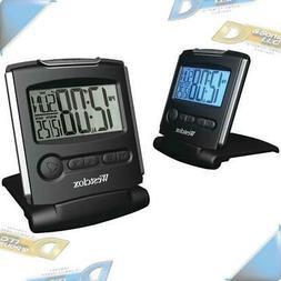 NEW Westclox Fold-up Travel Alarm Clock