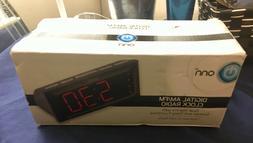 New In Box onn Digital Alarm Clock and AM/FM Radio