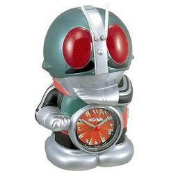 NEW SEIKO Masked Kamen rider Talking Alarm Clock Japan Japan