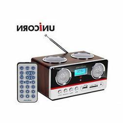 NEW Unicorn MF-500W Wireless Radio Portable Speaker MP3 Alar