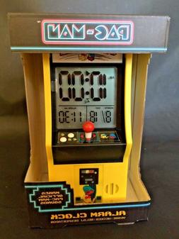 NEW! PACMAN ARCADE ALARM CLOCK by Paladone Products PAC-MAN