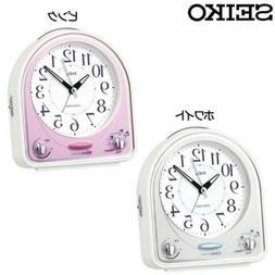 New!! SEIKO PYXIS Disney 31 Melodies Alarm Clock Auto Stop W