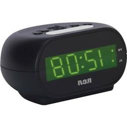 New RCA RCD20 Alarm Clock with .7 Green Display
