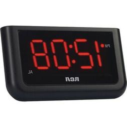 New RCA RCD30 Alarm Clock with 1.4 Red Display