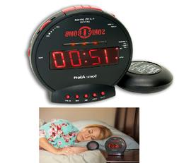 New Sonic Bomb Sonic Bomb Alarm Clock Turbo charged loud Bui
