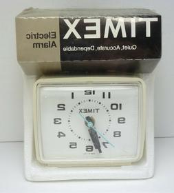 New Vintage TIMEX 7369-002 Electric Alarm Clock - SEALED