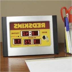 Team Sports America NFL Scoreboard Desk Clock