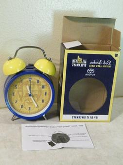 NIB Bob Uecker Talking Alarm Clock Milwaukee Brewers Basebal