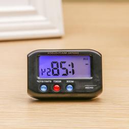 Night Light Digital Mini Small Alarm Clock LED Display Trave