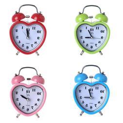 non ticking quartz alarm clock light night