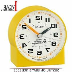 Seiko Novak Djokovic Foundation Alarm Clock│Lumibrite Hand