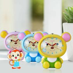 Novelty Cute Monkey Talking Silent Night Light Snooze Alarm