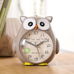 Novelty Night Owl Talking Silent Sweep Snooze Night Light Al