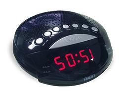 NRC-170 PLL Digital Alarm Clock with AM/FM Radio & Snooze