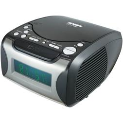 NAXA NRC175 Digital Alarm Clock Radio & CD Player Computers,