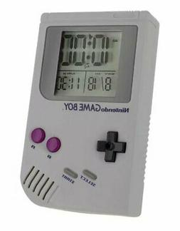 Official Nintendo Gameboy Alarm Clock Game room Gift Decor B