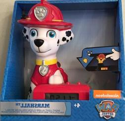 Paw Patrol 2021319 Marshall Kids Night Light Alarm Clock wit
