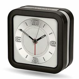 Peakeep Loud Melody Alarm Clock for Hearing Impaired with Sn