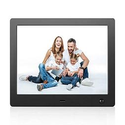 Digital Picture Frame 8 Inch Electronic Photo Frame with Mot