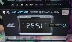 iLIVE PLATINUM ICWFV428B VOICE ACTIVATED CLOCK AMAZON ALEXA