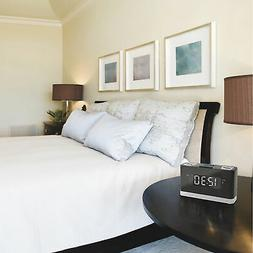 iLive Platinum Wireless Voice-Activated Alarm Clock with Bui